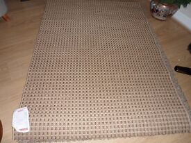 Large Seagrass Rug 120 by 170 New With Tags