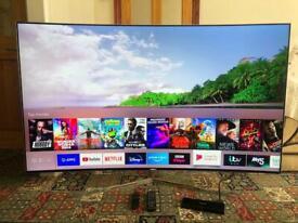 Samsung UE65KS9000 65 inch Curved 4K Quantum Dot Ultra HD Premium Smart LED TV Flagship Model