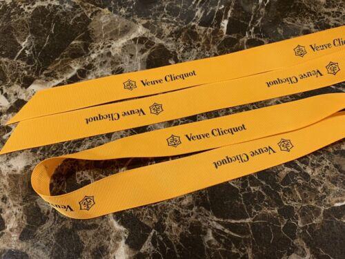 Authentic Veuve Clicquot VCP Signature Yellow RIBBON CLOTH Decoration RARE