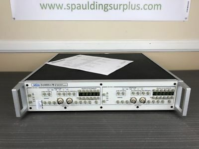 Lecroy Teledyne Da1855a Pr2 Dual Channel Differential Amplifier - Calibrated