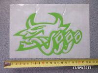 Exhaust pipes sticker green Witham