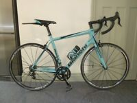 bianchi road bike,intrepeda carbon,campagnolo 57 frame,immaculate condition