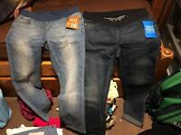 New-NEXT maternity jeans size 10/12s & tights New with tags.