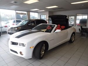 2013 Chevrolet Camaro LIKE NEW LOW KM 1 OWNER NO ACCIDENT  CONV
