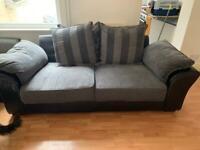 *FREE* Grey Sofa x 4 Cushions