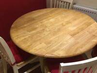 Kitchen table with 3 chairs