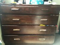 Double wardrobe and chest of drawers FREE