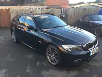 2011 BMW 320D SPORT PLUS EDITION A BLACK