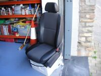 Mercedes Sprinter Single Passenger Seat and Base
