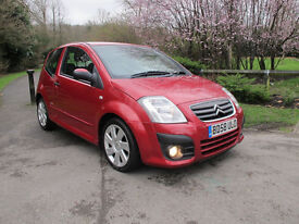 2009 (58) Citroen C2 1.6 HDi VTS 3dr with Full Service History. Excellent Runner Low Insurance