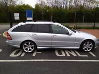 2006 MERCEDES C Class AUTOMATIC_ LPG converted_ Sports edition with paddle shift
