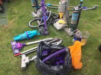 Large bundle of Vacuum parts