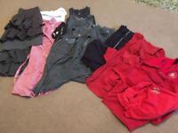 Girls Church Gresley Infant & Nursery School uniform bundle 6 - 8yrs