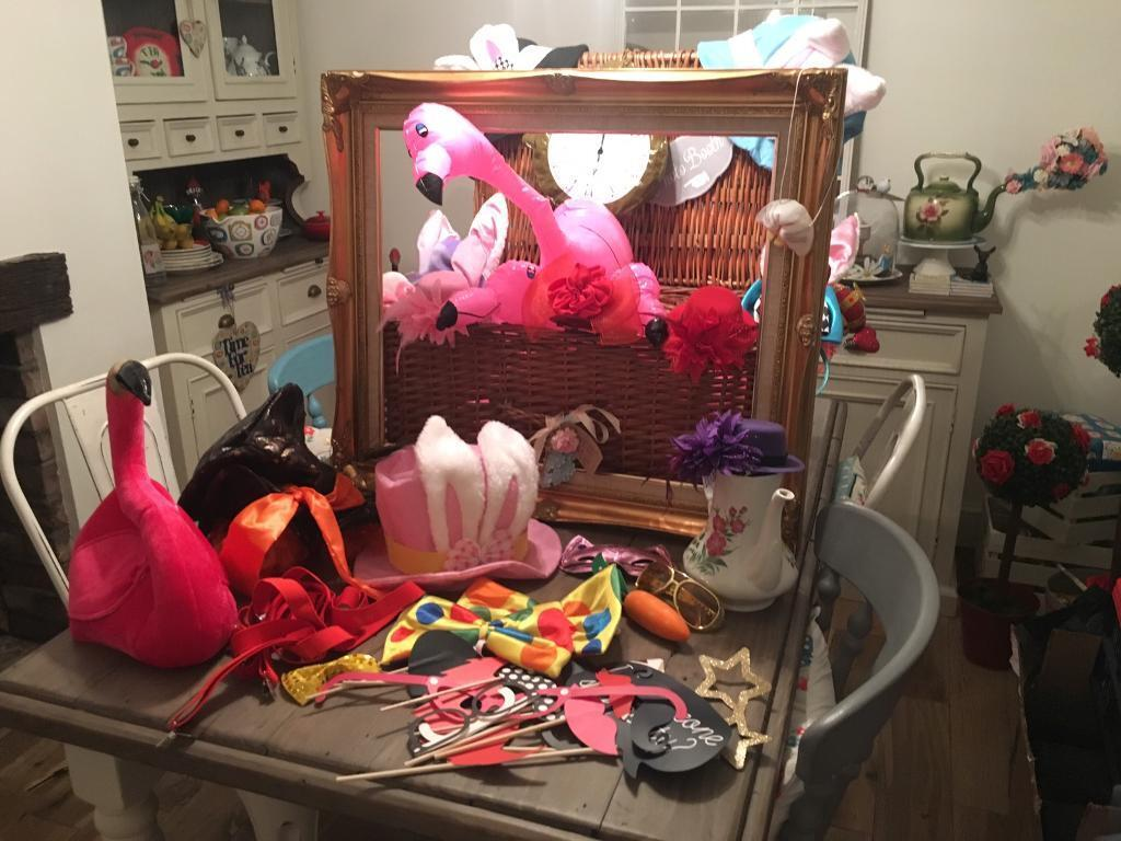 Alice In Wonderland Photo Booth Party Props Wedding Birthday Job Lot