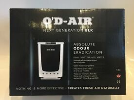 Ozone Generator - Hydroponic - Eliminates odours and plant pests/disease - ODAIR BLK Edition