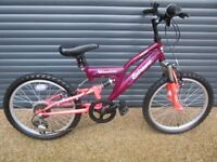 CHILDS APOLLO EXTREME MISSION BIKE IN ALMOST NEW CONDITION. (IDEAL PRESENT) SUIT APPROX. AGE. 6 / 7+