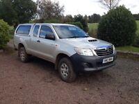 Toyota Hilux Active 2.5l Extra Cab (No VAT)