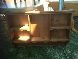 LOVELY SOLID PINE WALL UNIT - CAN DELIVER