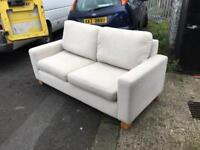 2 seater cream from sofa house