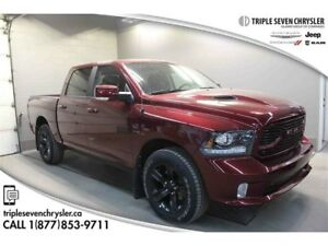 2018 Ram 1500 Sport (140.5 WB - 5.7 Box) Leather - FR AND RR Sen