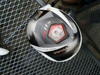 TAYLORMADE R11s 9 deg Driver with RBZ headcover and adjustment key