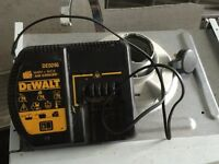 Dewalt charger and batteries for sale