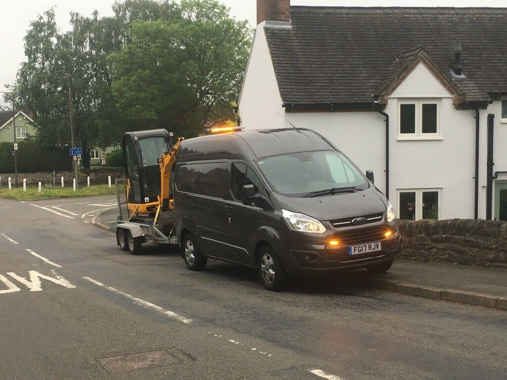 Mini Digger and Driver for Hire! All 'S' postcodes covered! Driveways, Gardens, Dig-outs