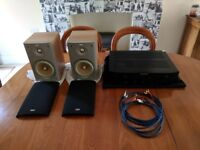 B&W Speakers, Marantz AMP & Cables