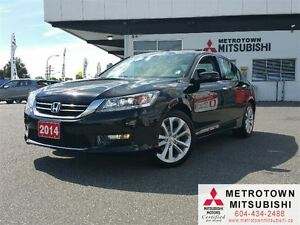 2014 Honda Accord Touring V6; Local, LOW KM