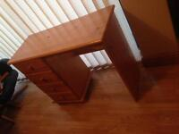 Solid Pine Dressing table or desk
