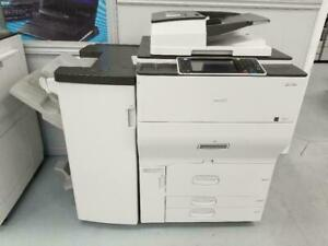 MULTIFUCNTIONAL RICOH MP C6502 LASER PRINTER COPIER SCANNER WITH BOOKLE MAKER FINISHER FOR JUST $169/MONTH UPTO 65 PPM