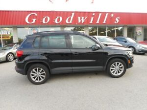 2013 Volkswagen Tiguan HIGH LINE! HEATED LEATHER SEATS! SUNROOF!