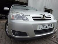 2004 TOYOTA COROLLA 1.6,5 DOOR,MOT DEC 016,2 OWNERS,PART HISTORY,2 KEYS,VERY RELIABLE FAMILY CAR