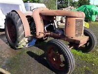 1950 David Brown Cropmaster for renovation.