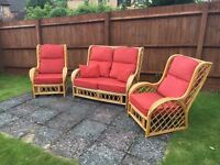 Wicker chairs for conservatory