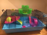 Savic Hamster Heaven Cage with Accessories