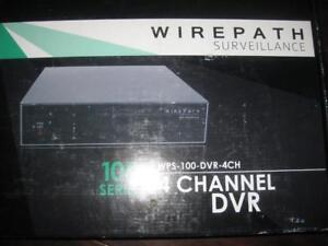 Wirepath Home Surveilllance Digital Video DVR Recorder for Security Camera. 500GB HDD. Access from Phone / Ipad Computer