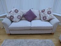 3-seater Sofa, Chair and Footstool set