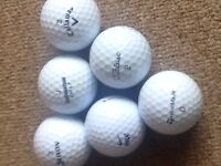 Golf balls all brands in excellent cond..