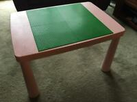 Pink Lego table £20 ip2