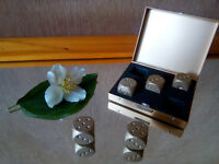 Father's day gift. Tiny Aluminum Stones Rocks in special gold box