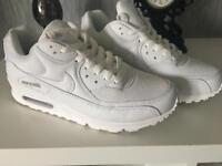 Size 6 adults Nike Air Max 90's nearly new