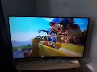 Samsung curved smart 55 inch tv