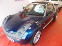 STUNNING SMART ROADSTER WITH ELECTRIC ROOF ,AUTO + STICK + PADLE CHANGE ,NEW MOT, FULL HISTORY ,!!