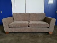 MARKS AND SPENCER URBINO LARGE 2 SEATER SOFA M&S FSBRIC SETTEE DELIVERY AVAILABLE
