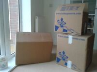 10 Double Walled Cardboard Boxes £5