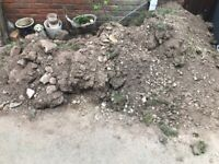 FREE Garden soil - several cubic metres for driveway collection