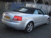 AUDI A4 1.8 T SPORT CONVERTIBLE CABRIOLET •••• £1450 ONLY •••• 3 DOOR COUPE