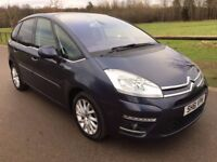 2011 Citroen C4 Picasso 1.6 s Hdi Airdream Exclusive Automatic Turbo diesel Full service history