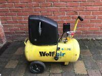 Wolf air 50 litre compressor